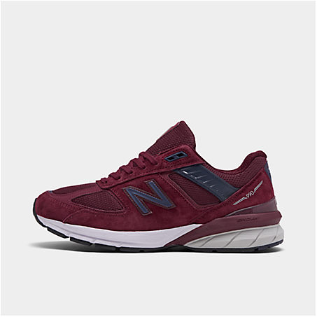 New Balance Shoes NEW BALANCE MEN'S 990V5 CASUAL SHOES IN RED SIZE 13.0 LEATHER/SUEDE