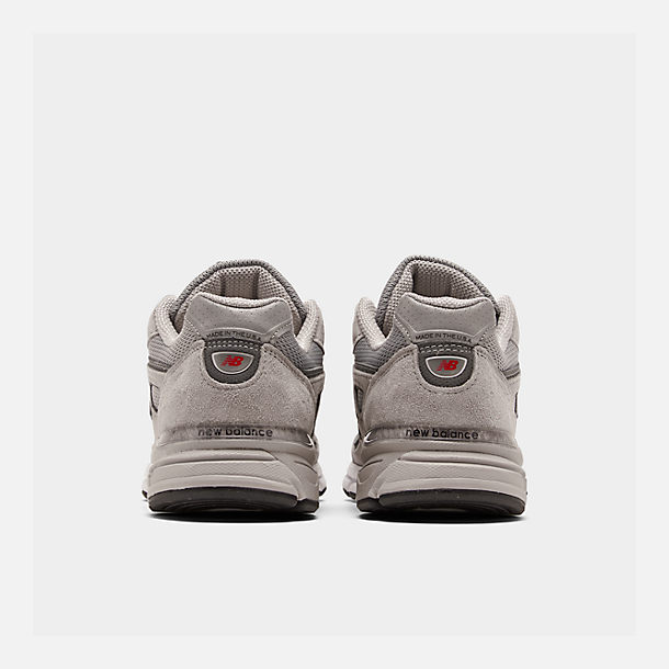 best sneakers b648b 29e50 Left view of Men s New Balance 990 V4 Running Shoes in Grey Castle Rock