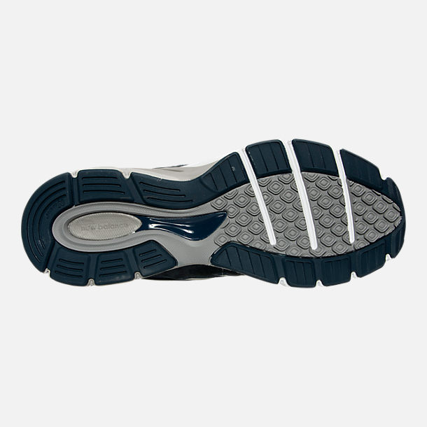 Bottom view of Men's New Balance 990 V4 Running Shoes in Navy