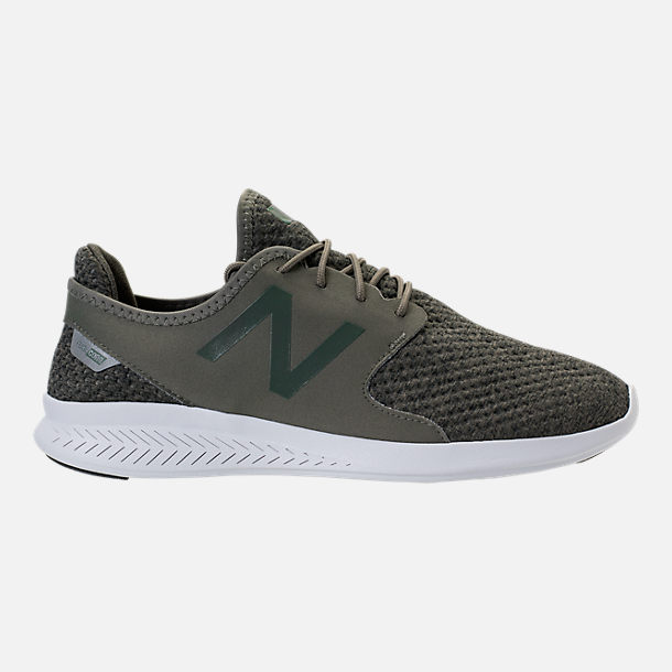Right view of Men's New Balance Coast Casual Shoes in Olive