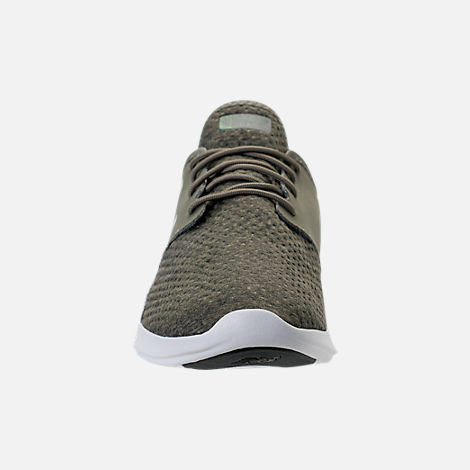 Front view of Men's New Balance Coast Casual Shoes in Olive