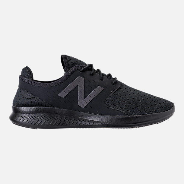 Right view of Men's New Balance Coast Casual Shoes in Black/Phantom