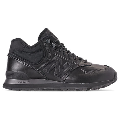 NEW BALANCE Men'S 574 Mid Casual Sneakers From Finish Line in Black