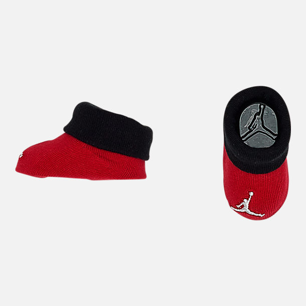 Alternate view of Infant Air Jordan Jumpman Jersey 3-Piece Boxed Set in Red/Black