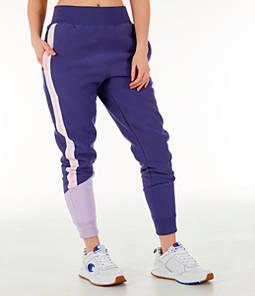 Women's Champion Reverse Weave Varsity Jogger Pants