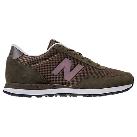 New Balance  MEN'S 501 SUEDE CASUAL SHOES, BROWN - SIZE 8.5
