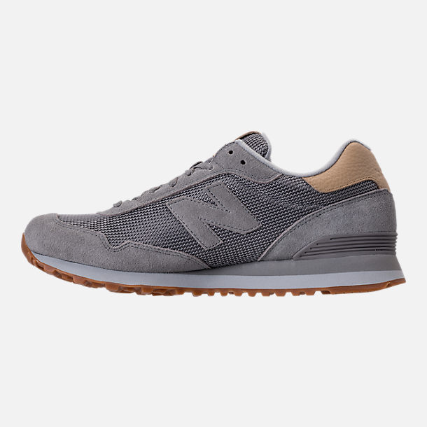 Left view of Men's New Balance 515 Casual Shoes in Marblehead/Bone