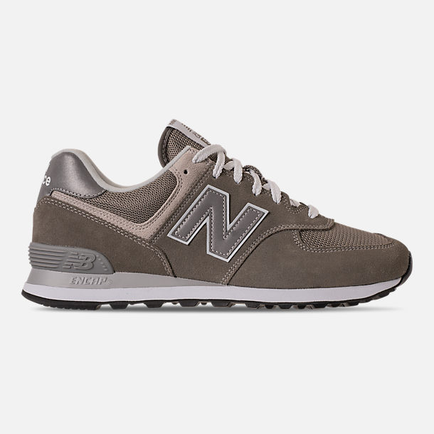 Right view of Men's New Balance 574 Casual Shoes in Tan/Brown/Grey