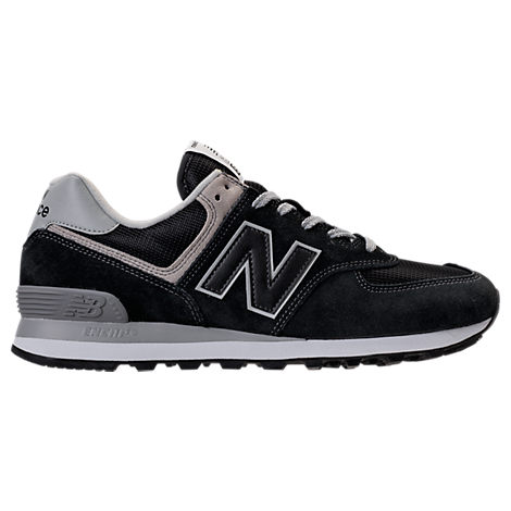 NEW BALANCE Men'S 574 Casual Sneakers From Finish Line in Black