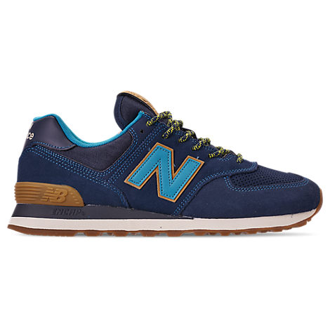 NEW BALANCE Men'S Trail Pack Suede Low-Top Sneakers in Blue