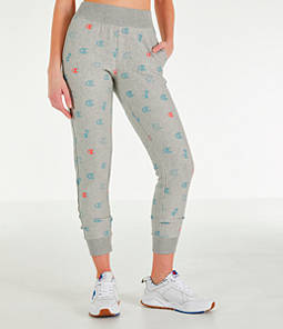 Women's Champion Reverse Weave Allover Print Jogger Pants