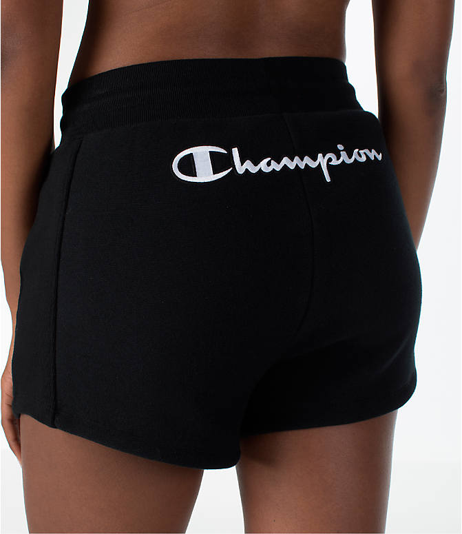 Detail 2 view of Women's Champion Heritage Shorts in Black