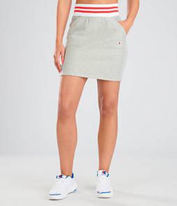 Women's Champion Life Reverse Weave Yarn Dye Stripe Skirt