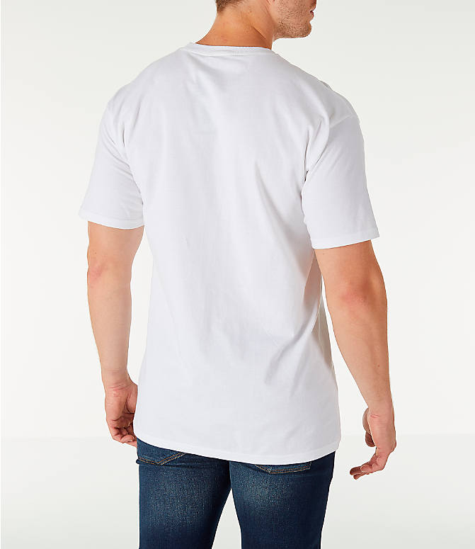 Back Right view of Men's Fila Original Fitness T-Shirt