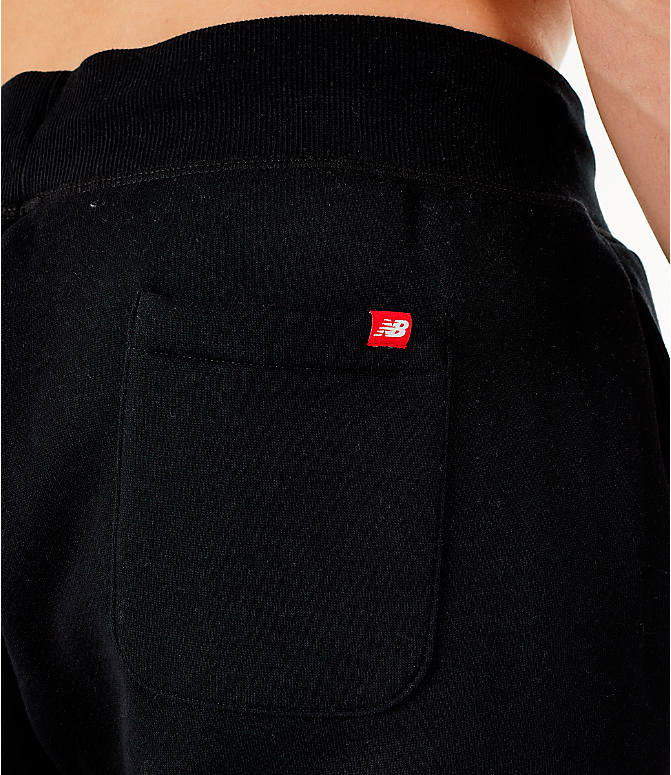 Detail 2 view of Men's New Balance Essentials Brushed Sweatpants in Black