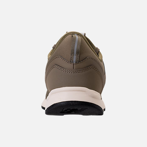 Back view of Men's New Balance 247 Classic Casual Shoes in Khaki/White
