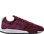 Men's New Balance 247 Suede Casual Shoes