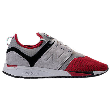 New Balance Men S 247 Casual Sneakers From Finish Line In Grey ... 02c078358f2e