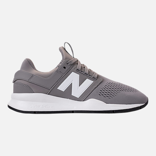 Right view of Men's New Balance 247 V2 Casual Shoes in Grey/White/Black