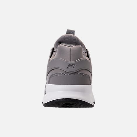 Back view of Men's New Balance 247 V2 Casual Shoes in Grey/White/Black