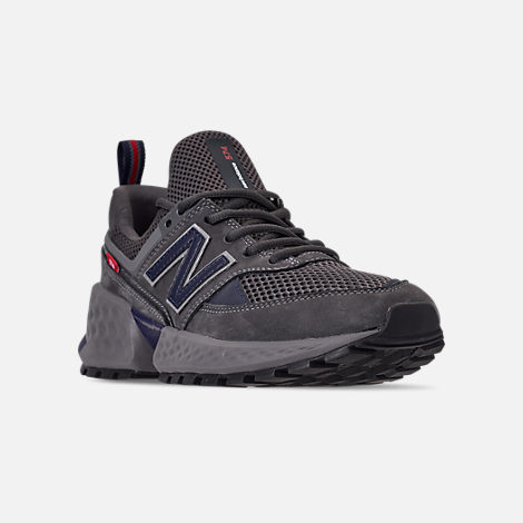 Three Quarter view of Men's New Balance 574 Sport Casual Shoes in Magnet/Pigment