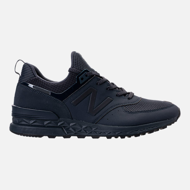 Right view of Men's New Balance 574 Sport Synthetic Casual Shoes in Navy