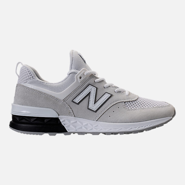 Right view of Men's New Balance 574 Sport Casual Shoes in Arctic Fox/Mussell White