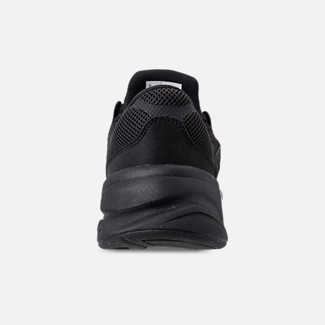 Back view of Men's New Balance X-90 Knit Casual Shoes in Black