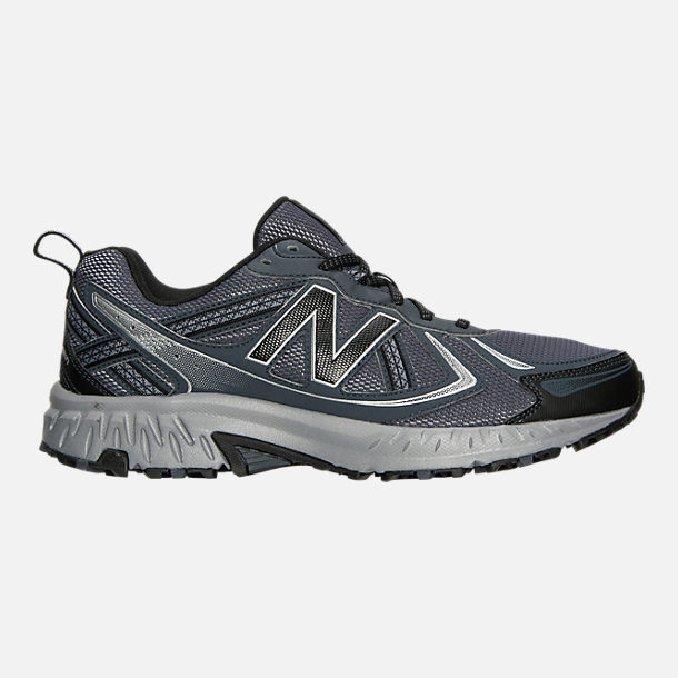 Right view of Men's New Balance 410 v5 Running Shoes in Anthracite/Dark Grey/Black