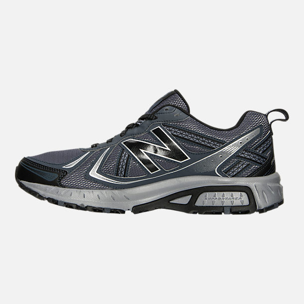 Left view of Men's New Balance 410 v5 Running Shoes in Anthracite/Dark Grey/Black