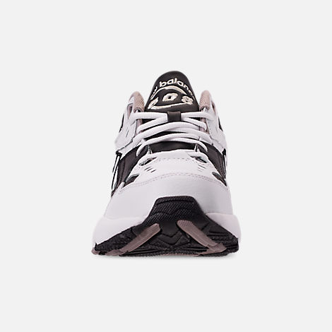 Front view of Men's New Balance 608 v1 Casual Shoes in White/Black