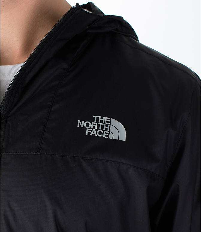 Detail 1 view of Men's The North Face Cyclone Wind Jacket in Black