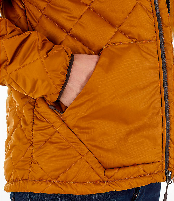 Detail 1 view of Men's The North Face Cervas Jacket in Golden Brown