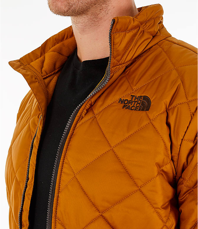 Detail 2 view of Men's The North Face Cervas Jacket in Golden Brown