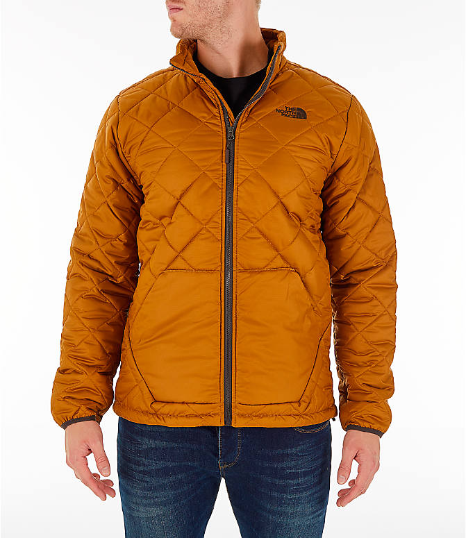 Front view of Men's The North Face Cervas Jacket in Golden Brown