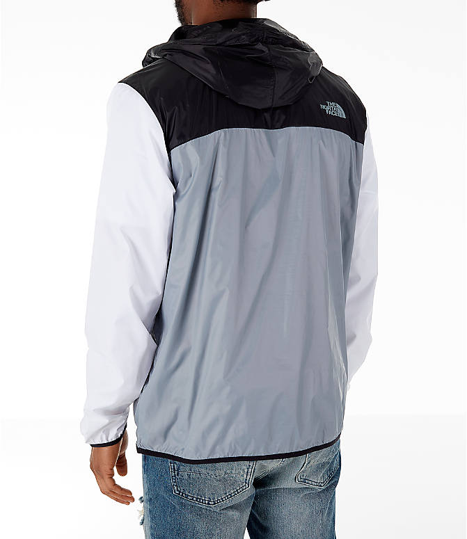eb6f707e62b8 Back Left view of Men s The North Face Fanorak Half-Zip Jacket in Grey