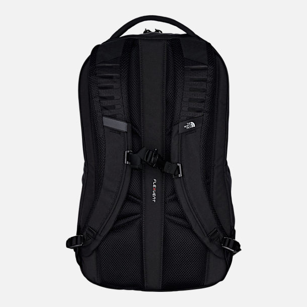 Back view of The North Face Vault Backpack in TNF Black