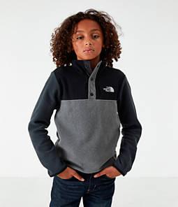 Boys' The North Face Glacier Half-Snap Sweatshirt