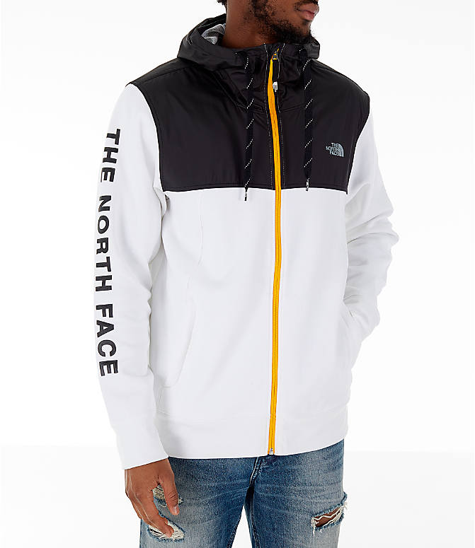 Front view of Men's The North Face Train N Logo Overlay Jacket