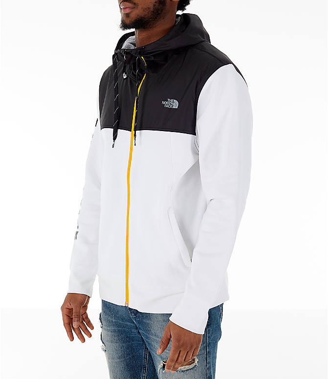 Front Three Quarter view of Men's The North Face Train N Logo Overlay Jacket