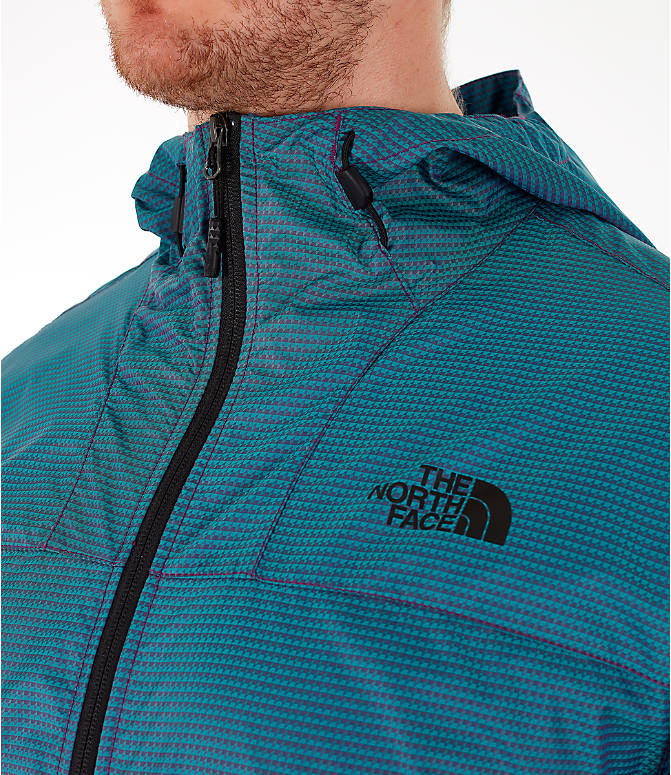 Detail 1 view of Men's The North Face Novelty Cyclone Hooded Jacket in Iridescent