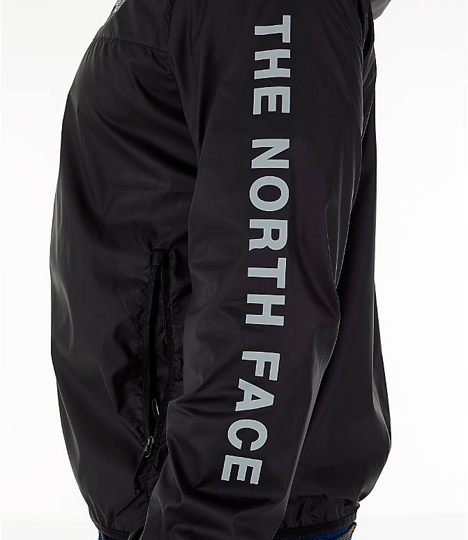 Detail 1 view of Men's The North Face Novelty Cyclone Hooded Jacket in Black