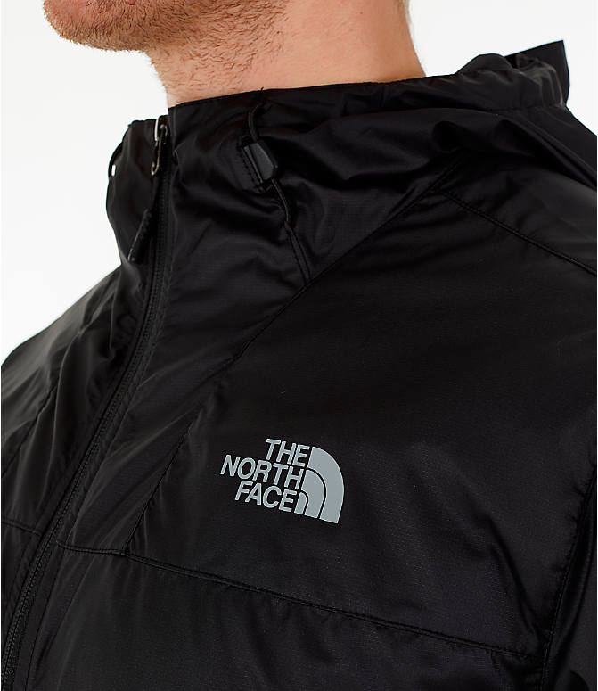 Detail 2 view of Men's The North Face Novelty Cyclone Hooded Jacket in Black