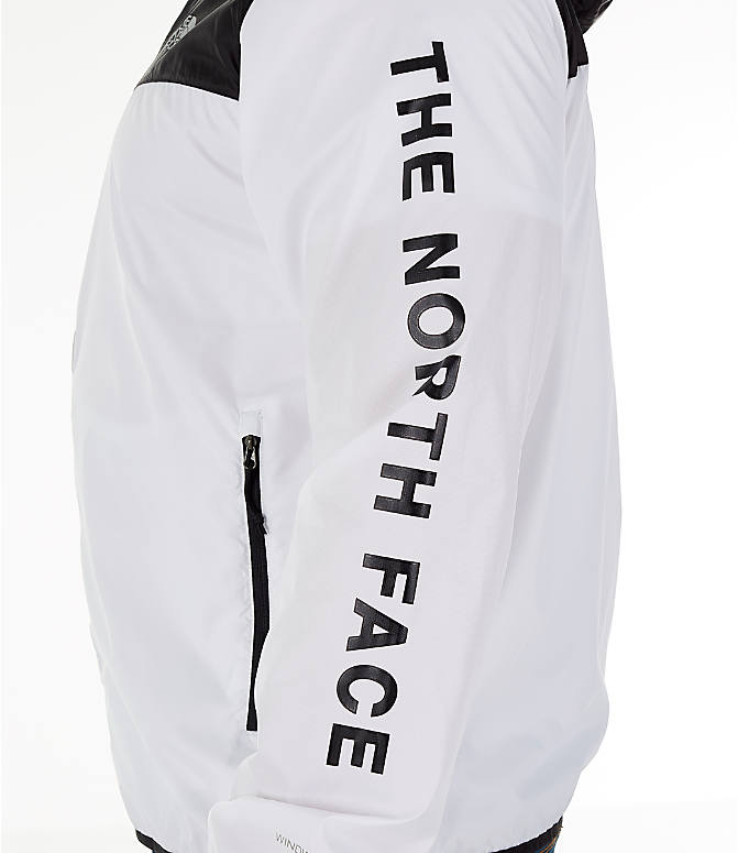 Detail 1 view of Men's The North Face Novelty Cyclone Hooded Jacket in White/Black