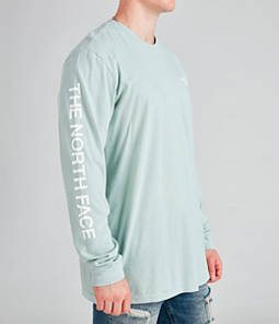 Men's The North Face Printed Long-Sleeve T-Shirt