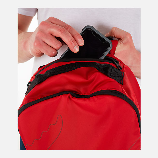 Alternate view of Lacoste Croc Outline Backpack in Red