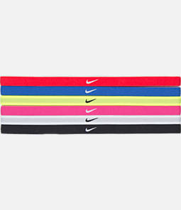 Girls' Nike 6-Pack Rainbow Headbands