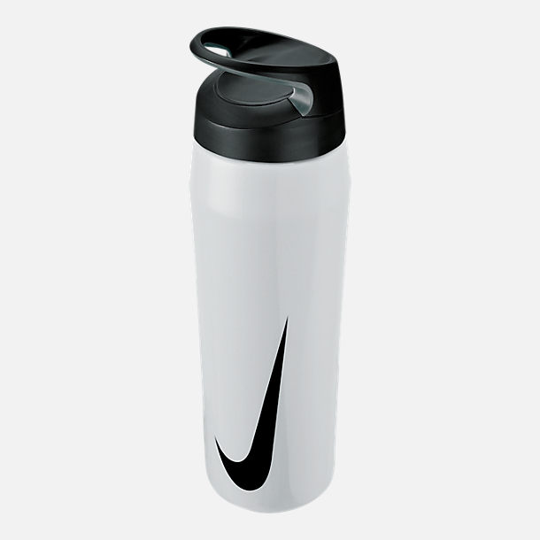Front view of Nike Stainless Steel HyperCharge Twist Elite Water Bottle- 24oz