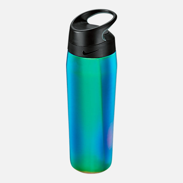 Back view of Nike Stainless Steel HyperCharge Twist Elite Water Bottle- 24oz in Multicolor/Anthracite