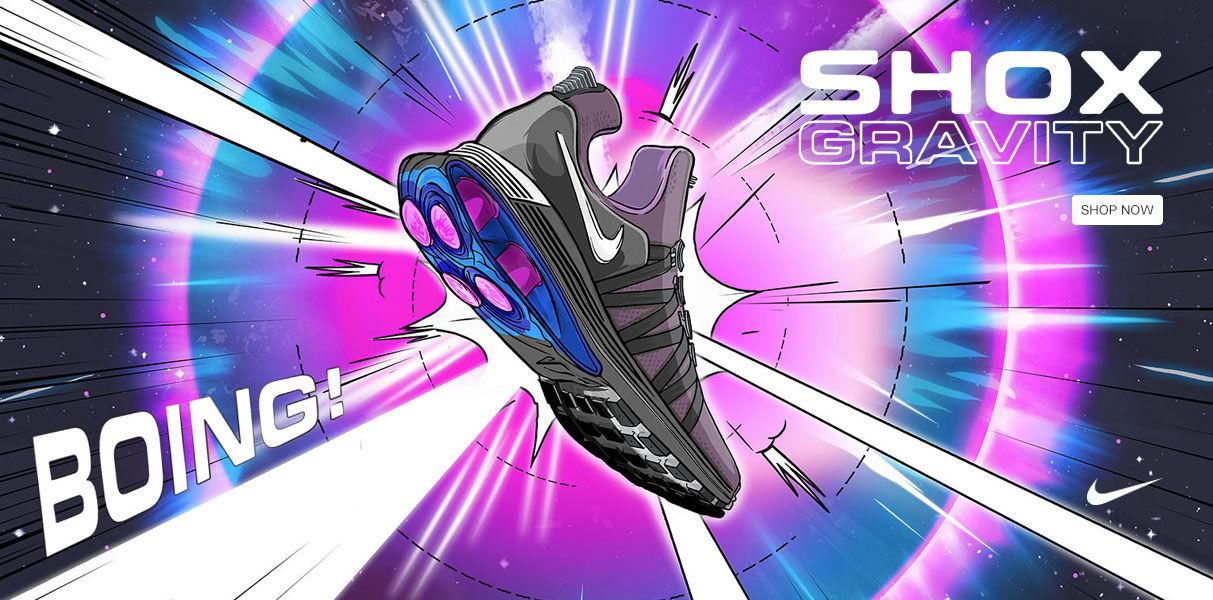 Nike Shox. Shop Now.